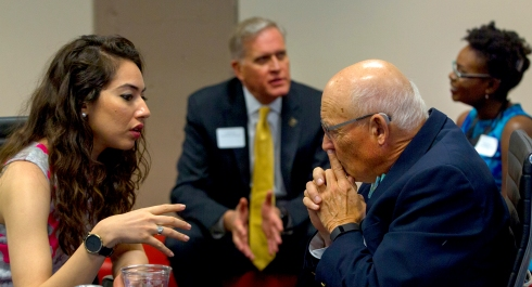 Pakistani journalist Amal Khan spoke to Alfred Friendly Foundation Chairman Jonathan Friendly.